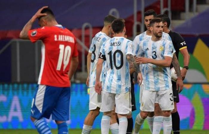 منتخب الأرجنتين يهزم باراغواي ويعبر إلى ربع النهائي