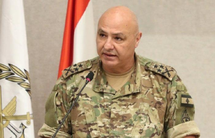 لقاءات قائد الجيش في اليرزة
