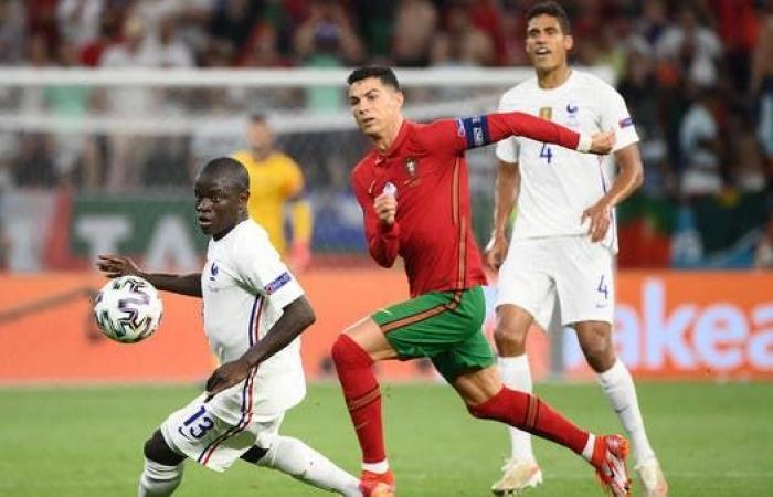 تأهل فرنسا والبرتغال في ليلة رونالدو التاريخية