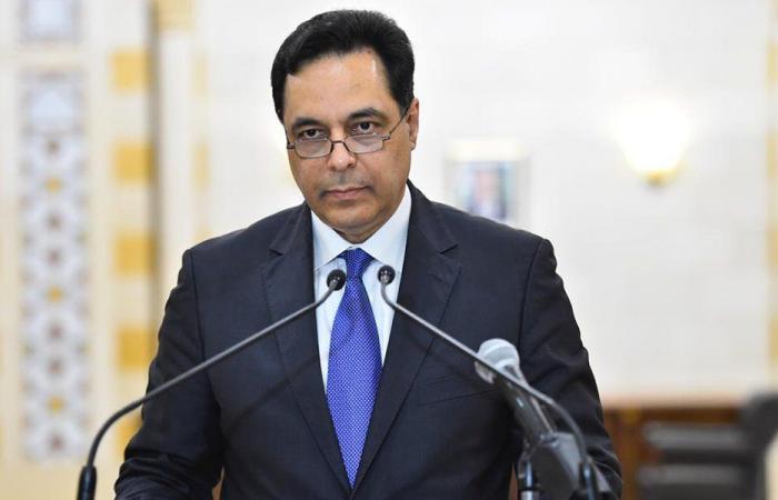 الأوضاع العامة بين دياب وسفير قطر
