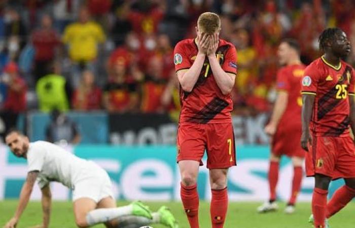 """جيل بلجيكا """"الذهبي"""" يعيش خيبة أمل جديدة"""