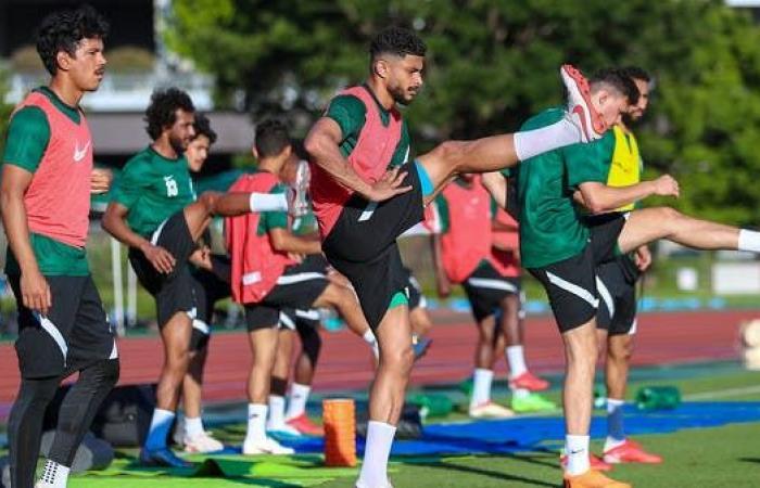 المنتخب السعودي يستهل تدريباته في طوكيو قبل الأولمبياد