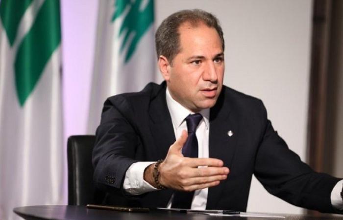 سامي الجميل: نتمنى بهذا العيد أن يقوم لبنان من وجعه
