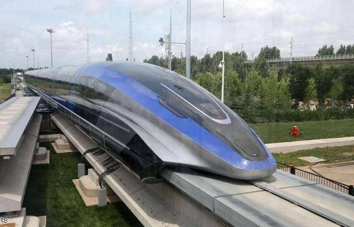الصين تصنع أسرع قطار مغناطيسي في العالم