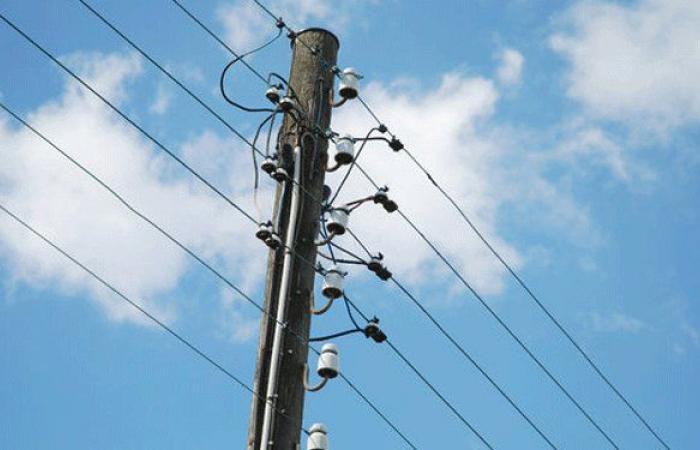 سرقة شبكة الكهرباء في الجية
