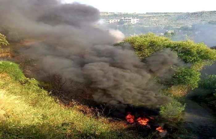 إخماد حريق كبير في أرزي – الزهراني