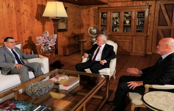 المستجدات السياسية بين فرنجية والسفير المصري