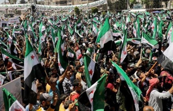 سوريا.. احتجاجات في بلدات ريف إدلب ضد القوات التركية