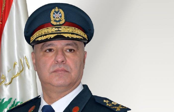 قائد الجيش الى مصر