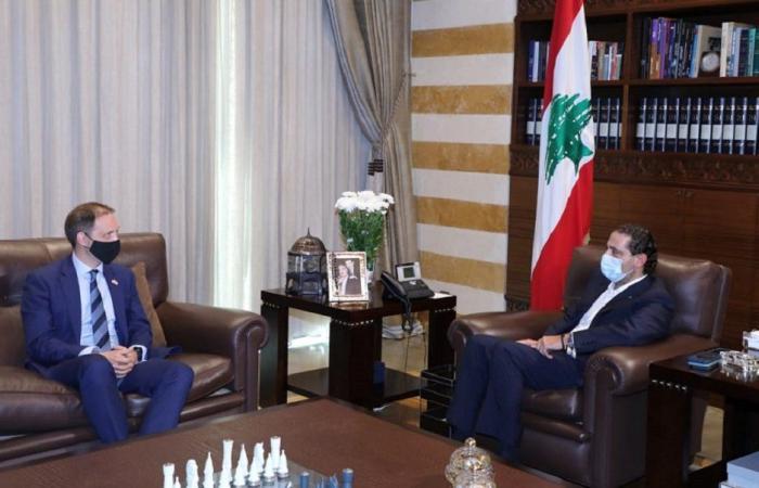 الحريري التقى السفير البريطاني الجديد في زيارة بروتوكولية