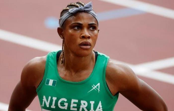 إيقاف النيجيرية أوكاغباري من المشاركة في أولمبياد طوكيو