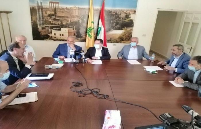 نواب بعلبك الهرمل: لخطة وطنية شاملة تحمي الثروة الحرجية