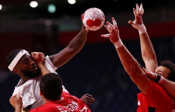 مصر تخسر في نصف نهائي كرة اليد أمام فرنسا