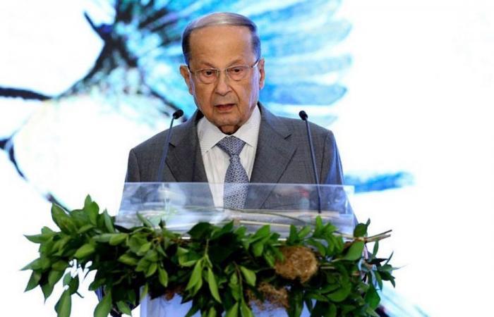 عون: لدى إسرائيل نوايا عدوانية تصعيدية تجاه لبنان