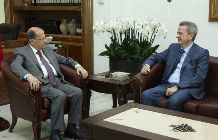 """احتدام الخلاف بين الرئيس اللبناني وحاكم """"المركزي'"""