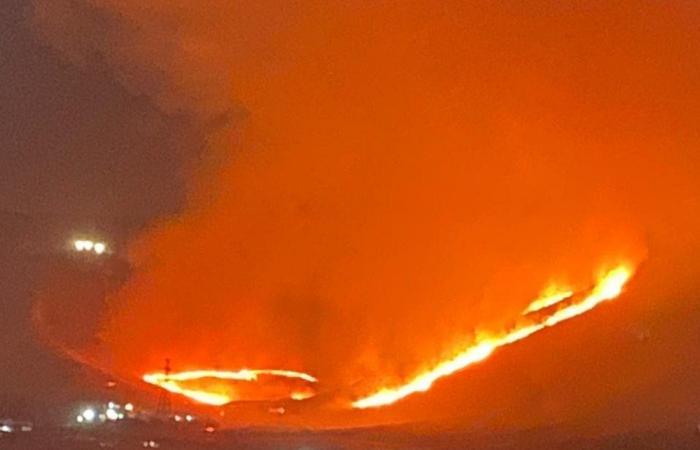 الحرائق تتجدد في وادي فعرة… والأهالي يناشدون!