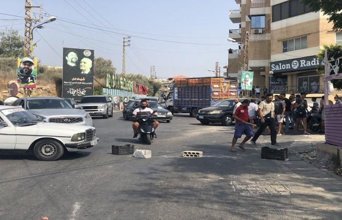 في العباسية… قطعوا الطريق احتجاجًا على جرح 5 أشخاص