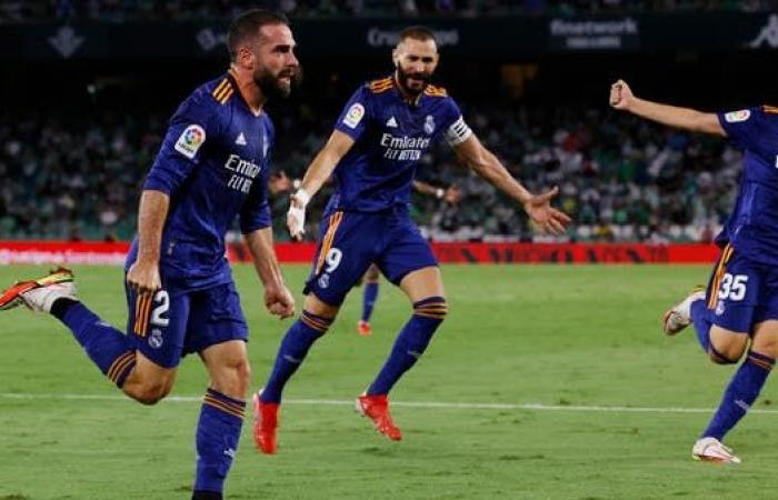 ريال مدريد يحقق فوزاً ثميناً على ريال بيتيس