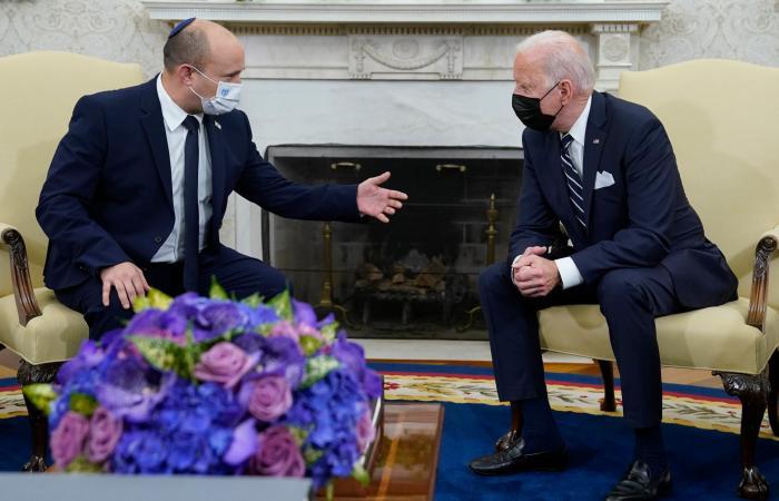 إسرائيل: اتفقنا مع بايدن على منع إيران من امتلاك النووي