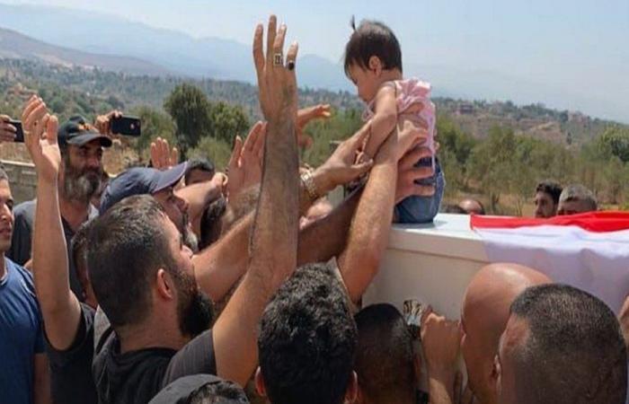 بلدة الدوسة- عكار شيّعت شابين من ضحايا انفجار التليل