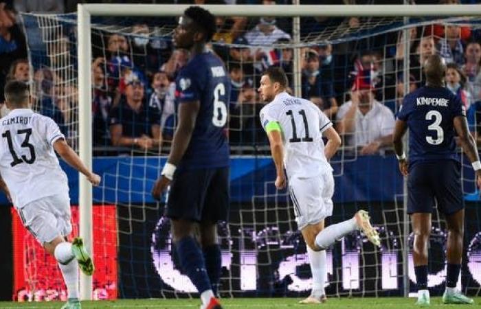 منتخب البوسنة يوقف بطل العالم