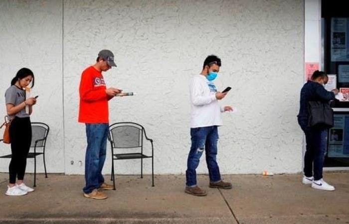 تراجع طلبات إعانة البطالة الأميركية