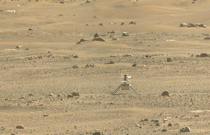 مسبار ناسا يجمع أول عينة صخرية من المريخ