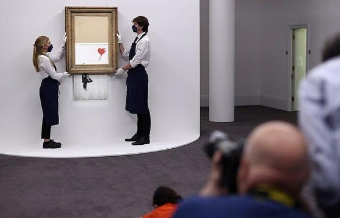 عمل فني نصف ممزق قد يباع بـ5 ملايين دولار!