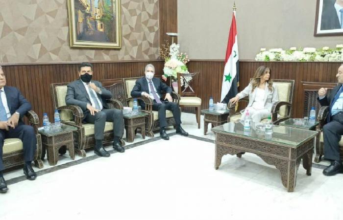 موضوع استجرار الغاز المصري عبر سوريا على طاولة المحادثات