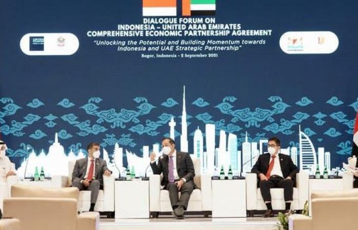 محادثات إماراتية إندونيسية لعقد اتفاقية شراكة اقتصادية شاملة