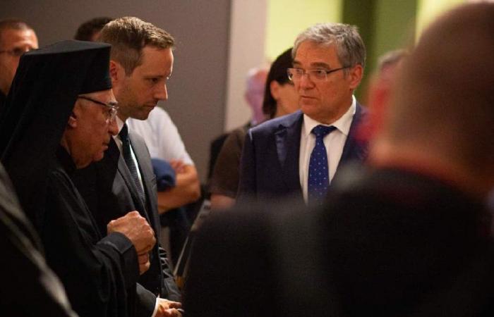 العبسي شارك في أعمال المؤتمر الافخارستي العالمي