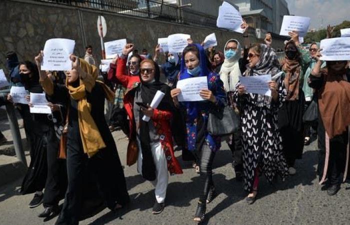رصاص كثيف وقمع.. قتيلان وجرحى في تظاهرة مناهضة لطالبان