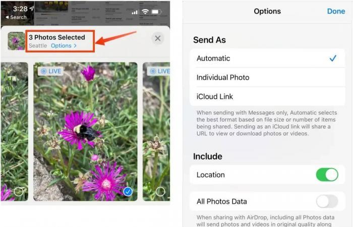 كيف يمكنك حذف بيانات الموقع من صور آيفون التي ترسلها؟