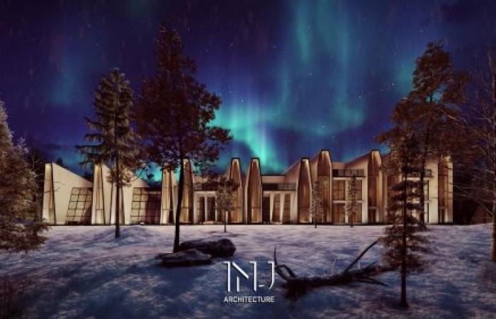 المعماري السعودي ابراهيم جوهرجي يحرز مركز متقدم ضمن المسابقة المعمارية فندق القطب الشمالي