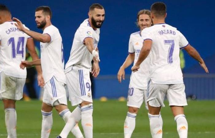 ريال مدريد يقلب خسارته إلى خماسية في مرمى سلتا فيغو