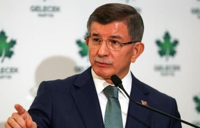 داوود أوغلو ينتقد خطوات أردوغان وحليفه لخفض العتبة الانتخابية