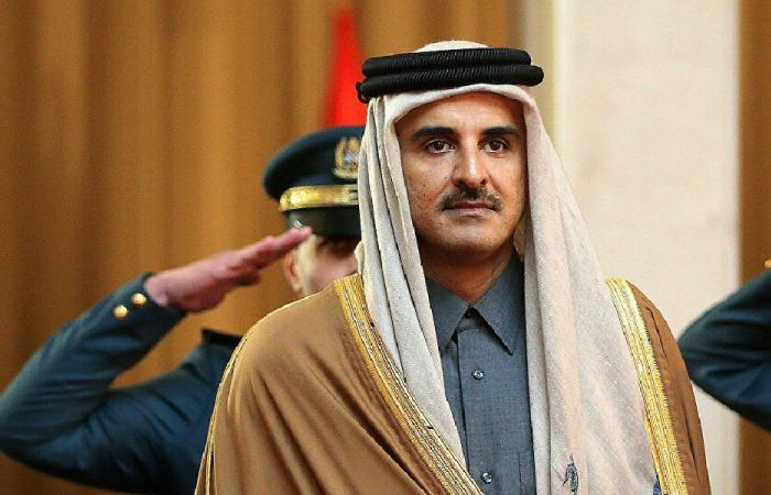 أمير قطر يهنئ عون بتشكيل الحكومة