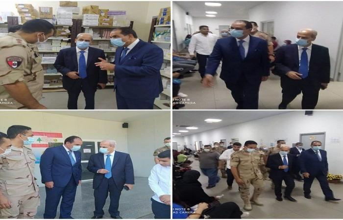 خير تفقد المستشفى الميداني المصري ومستشفى الجعيتاوي