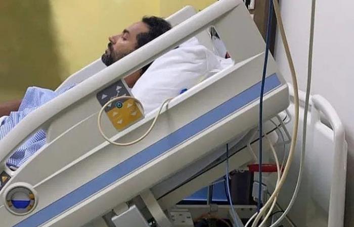 أزمة صحية مفاجئة تلم بكريم فهمي.. وصورة من المستشفى