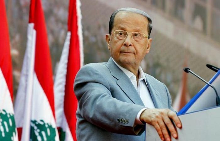 """""""لا تراجع عن الثروة النفطية"""".. عون: التهديدات الإسرائيلية هي الهمّ الشاغل للبنان"""