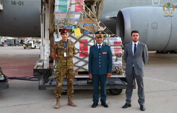 هبة غذائية من إيطاليا للجيش اللبناني