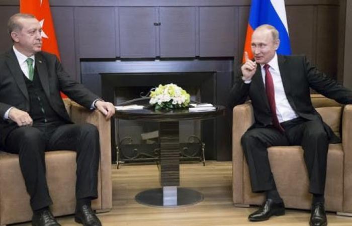 """بوتين وأردوغان يبحثان غداً التهدئة بسوريا وصواريخ """"إس.400"""""""
