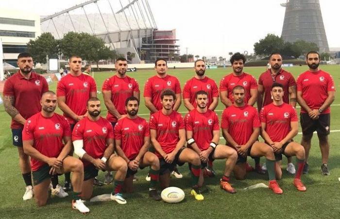 لبنان يتأهل الى نصف نهائي بطولة غرب آسيا للرغبي 7