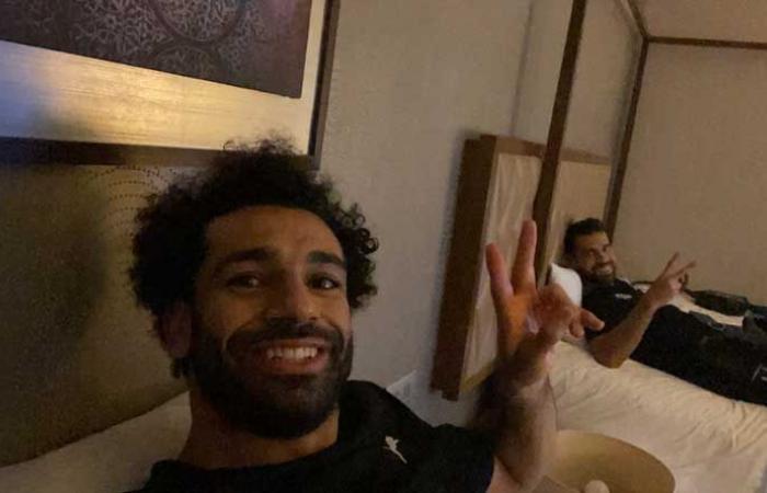 بالصورة ـ صلاح يدعم عبد الله السعيد ضد الانتقادات