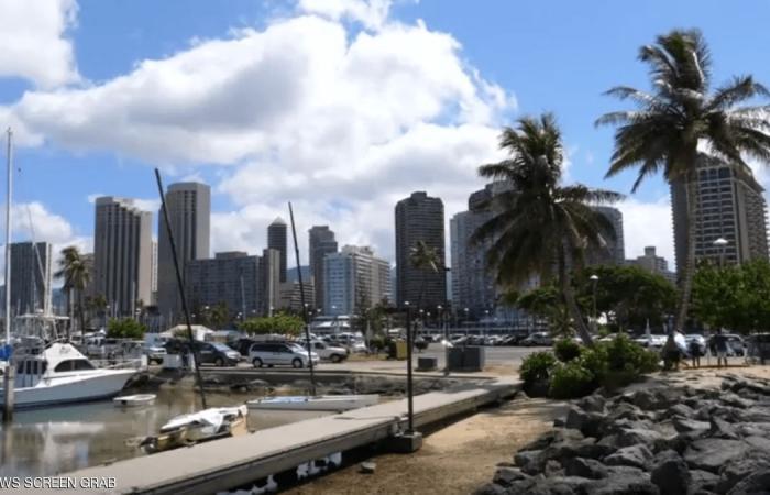 زلزالان يضربان سواحل هاواي