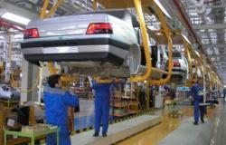 الانتاج السنوي للسيارات تخطى 1.5 مليون وحدة في ايران