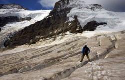 مصرع متسلّق في جبال الألب السويسرية!