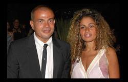 شاهد زوجة عمرو دياب تحتفل بدون خاتم زواج