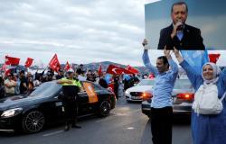 التهاني تتوالى على أردوغان بفوزه في الانتخابات