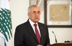 سليمان: قدر اللبناني ان يتعايش مع اللادستور